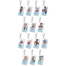 Another Eden Acrylic Keychain Complete Set (4th Anniversary Mini Character Ver.)