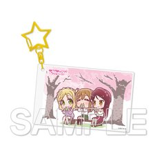 Love Live! Sunshine!! Aqours Riko & Hanamaru & Mari Vol. 6 Acrylic Keychain
