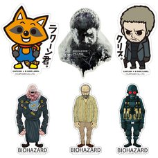 Capcom x B-Side Label Resident Evil Sticker Collection Vol. 3