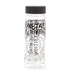 Hatsune Miku Metal Edition Clear Bottle