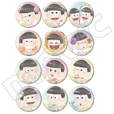 Osomatsu-san Zodiac Character Badge Collection Box Set