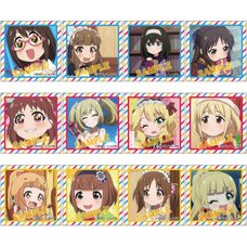 Idolm@ster Cinderella Girls Theater Square Badge Collection Vol. 2 Box Set