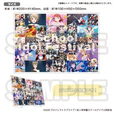 Love Live! Nijigasaki High School Idol Club Nijigasaki High School Store Official Memorial Item Vol. 13: School Idol Festival Acrylic Photo Panel
