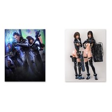Gantz:O Chara Fine Canvas Board