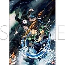 Demon Slayer: Kimetsu no Yaiba the Movie: Infinity Train Mini Clear Poster C