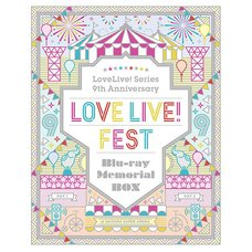 Love Live!  Series 9th Anniversary Love Live! Fes Blu-ray Memorial Box (4-Disc Set)