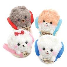 Fuwa-mofu Pometan Trip in a Bag Dog Plush Collection (Standard)