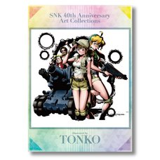 SNK 40th Anniversary Tonko Clear File