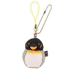 Irotoridori King Penguin Keychain Strap