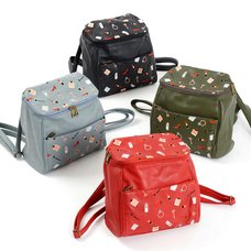 FLAPPER Cosmetics Embroidered Backpacks 2015 Autumn/Winter Ver.