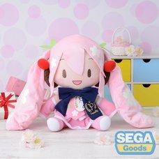 Preciality SP Plush Hatsune Miku: Sakura Miku