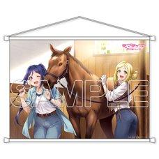 Love Live! Sunshine!! Aqours Kanan & Mari Vol. 3 B2-Size Tapestry