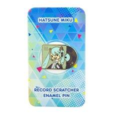 Hatsune Miku Record Scratcher Enamel Pin