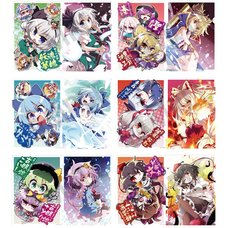 Touhou Project Character Clear File Collection: Akaneya Ver.