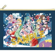 Vocaloid Space Police Pouch