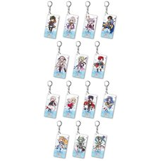 Another Eden Acrylic Keychain (4th Anniversary Mini Character Ver.)