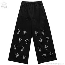 LISTEN FLAVOR Cross Wide Pants