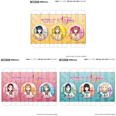 Love Live! Series Aqours All Stars Official Pin Badge Set