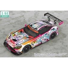 1/64 Scale Good Smile Hatsune Miku AMG 2021 Super GT Round 3 Ver.