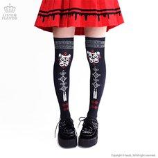 LISTEN FLAVOR China Knee-High Socks