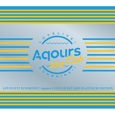 Love Live! Sunshine!! Aqours Club CD Set 2019 Platinum Edition (First-Press Limited Edition)