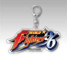 The King of Fighters '96 Title Logo Acrylic Keychain