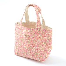 Korilakkuma Strawberry Flower Mini Tote Bag