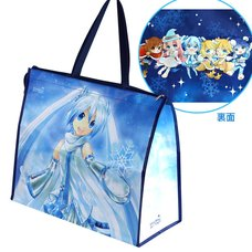 Snow Miku Zippered Port Bag