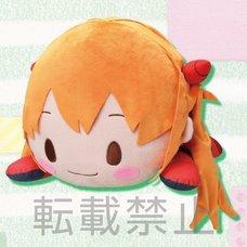 Mega Jumbo Lying Down Plush Evangelion Asuka Shikinami Langley: Plugsuit Ver. feat. Sangatsu Youka