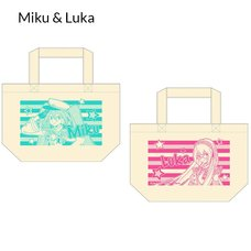 Vocaloid Lunch Tote Bags