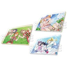 Love Live! General Magazine Vol. 1: Love Live! μ's Acrylic Magnet Collection