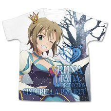 The Idolm@ster Cinderella Girls My First Star!! Riina Tada Graphic T-Shirt