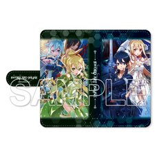 Sword Art Online: Alicization War of Underworld Notebook-Style Smartphone Case