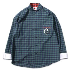 PDS Green China Check Shirt