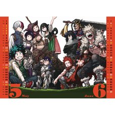 My Hero Academia 2018 Comic Calendar