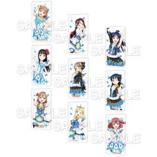 CharaClear Love Live! Sunshine!! Water Blue New World Acrylic Keychain Collection