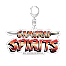 Samurai Spirits Title Logo Acrylic Keychain