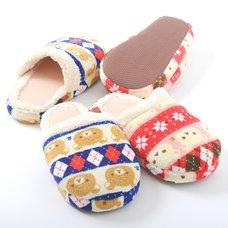 Rilakkuma Fleece Slippers
