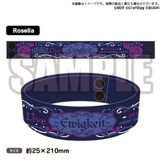 BanG Dream! Girls Band Party! 5th☆Live Anniversary Roselia Wristband