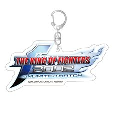 The King of Fighters 2002: Unlimited Match Title Logo Acrylic Keychain