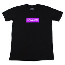 OTAQUEST Box Logo Black T-Shirt