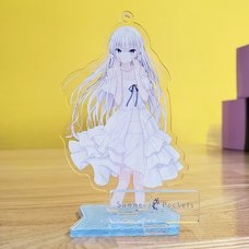 Key 20th Anniversary Summer Pockets Acrylic Stand Keychain