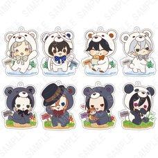 Bungo Stray Dogs Kigurumi Series: Bears Ver. Acrylic Strap Box Set