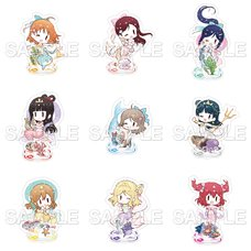 Love Live! Sunshine!! School Idol Diary 9 Mermaids☆ Acrylic Stand Collection