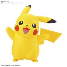 Pokémon Model Kit Quick!! 01: Pikachu