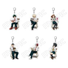 My Hero Academia Autumn Reading Full Body Acrylic Keychain Collection