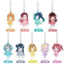 Nendoroid Plus: Love Live! Sunshine!! Koi ni Naritai Aquarium Ver. Trading Rubber Straps Box Set