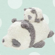 Marshmallow Animal Mascot Panda