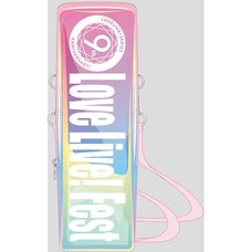 Love Live! Series 9th Anniversary Love Live! Fest Blade Pouch