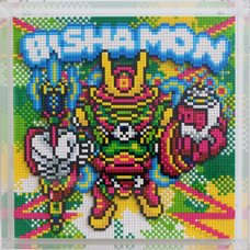 Shibuya Pixel Art Artists Works Nanoblock Relief Ban-8Ku
